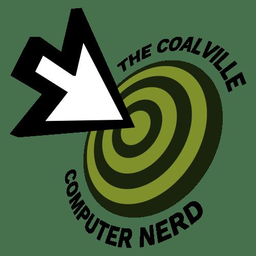 The Coalville Computer Nerd Logo